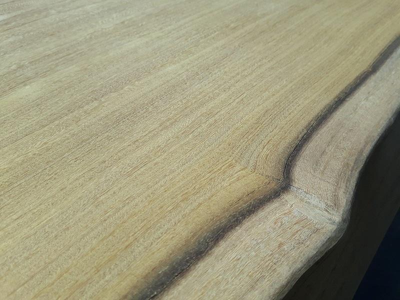 Afrormosia hout impressie